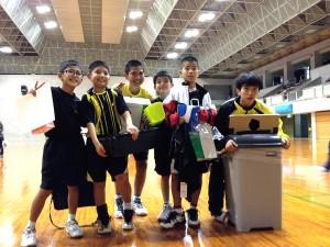 第18回沖縄県小学生総合シングルスバドミントン選手権大会