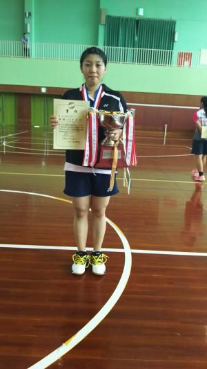 第57回沖縄県総合シングルスバドミントン選手権大会