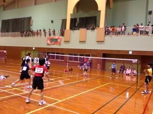 第15回沖縄県小学生ダブルスバドミントン大会二日目の組み合わせをアップしました。