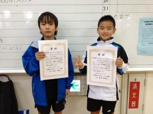 第15回沖縄県小学生ダブルスバドミントン大会