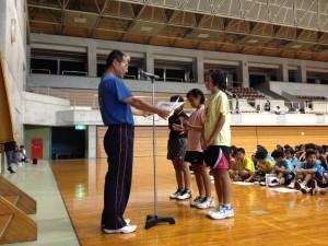 第33回新報児童オリンピック大会 バドミントン競技