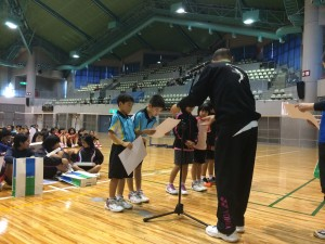 第16回沖縄県小学生ダブルスバドミントン大会