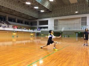 第20回沖縄県小学生総合シングルスバドミントン選手権クラス別大会