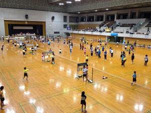 第16回 沖縄県小学生総合シングルスバドミントン選手権クラス別大会